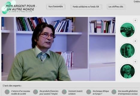 Finance solidaire : mon argent pour un autre monde   LeMonde.fr   L'actualité du webdocumentaire   Scoop.it