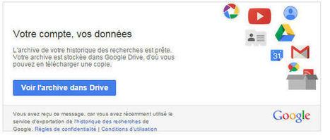 Voici comment télécharger votre historique de recherches Google | Marmite Web Marketing | Scoop.it