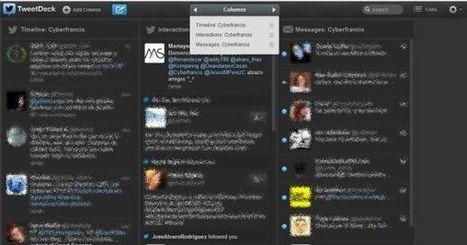 TweetDeck mejora el manejo por las columnas en su nueva versión | HERRAMIENTAS EDUCATIVAS | Scoop.it