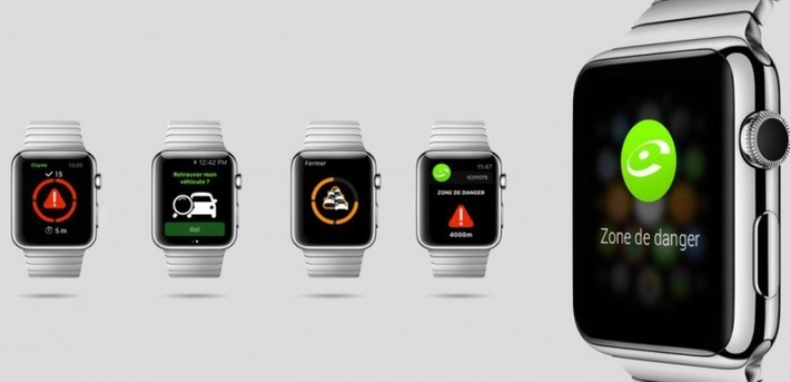 "L'avertisseur Coyote sur l'Apple Watch | Veille Techno et Informatique ""AutreMent"" 