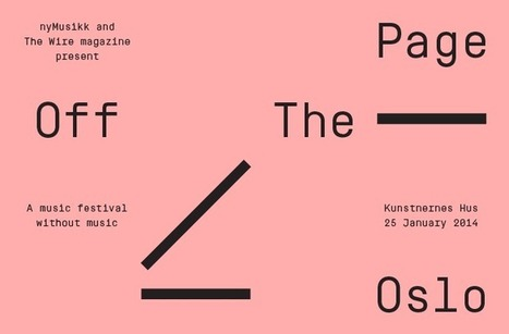 Off The Page Oslo | Sonore Visuel | Scoop.it