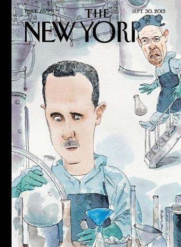 The New Yorker place Bachar el-Assad dans le labo de Breaking Bad   graphisme-webdesign   Scoop.it