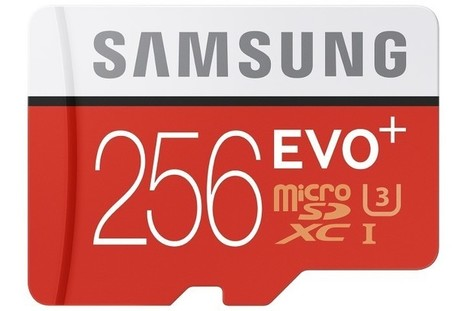 Samsung announces EVO Plus 256GB microSD Card, highest capacity for a microSD card in its class | Tech Latest | Scoop.it