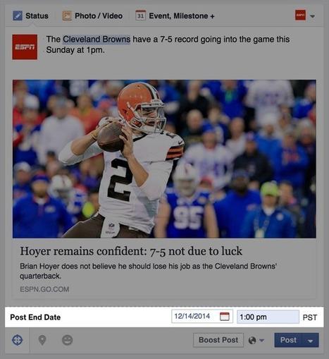 Facebook: ecco i post targettizzabili e la data di fine - Civippo | Facebook Daily | Scoop.it