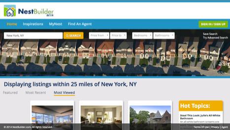 NestBuilder : Le futur Youtube de l'immobilier vient-il de voir le jour aux Etats-Unis? | michel TYBURSKI | Scoop.it
