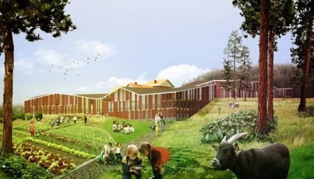 [Hämeenkyrö, Finland] Environmental School Competition Entry / Hyperbuildings | The Architecture of the City | Scoop.it