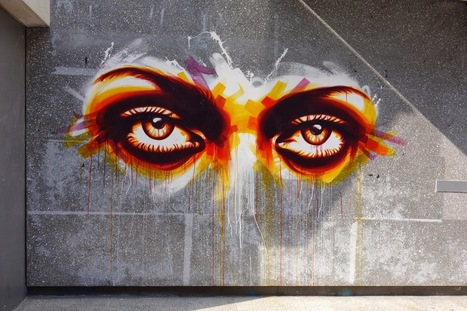 Sunday Street Art : Dan23 - rue Hélène Brion - Paris 13 ... | Richard and Street Art | Scoop.it