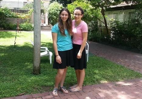 US Jewish teens brave rockets to lend a hand at Israeli rehab hospital   Jewish Education Around the World   Scoop.it