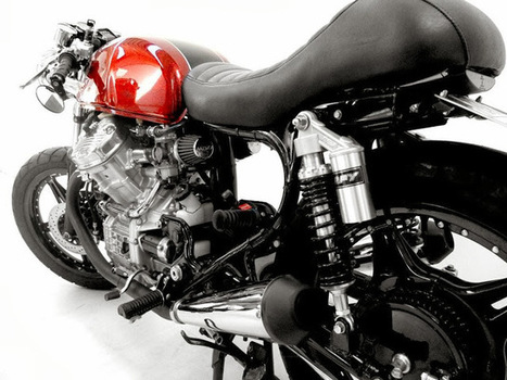 Honda CX500 Cafe Racer | Rino Scala - Grease n Gasoline | Great Bikes | Scoop.it
