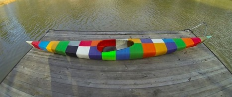 The World's First 3D-Printed Kayak Is Adorably Colorful - Gizmodo | 3d modeling with blender 3D | Scoop.it