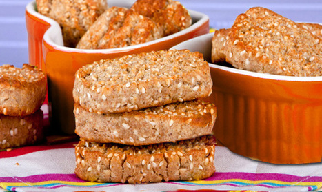 Rye Crackers recipe | Foods and recipes | Scoop.it