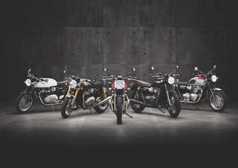 Triumph Motorcycles' 2016 range makes its UK public debut | Motorcycle Industry News | Scoop.it