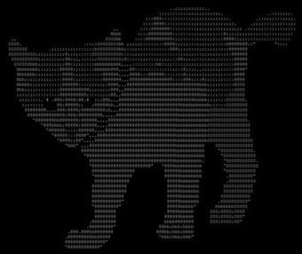 gato ascii | ASCII Art | Scoop.it