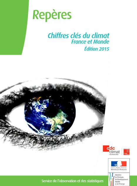 Les derniers chiffres clés du climat France et monde publiés par le ministère de l'Ecologie | great buzzness | Scoop.it