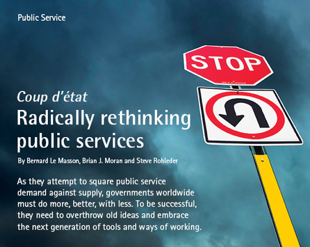 Coup d'état: Radically rethinking public services   Accenture Outlook   Design Thinking   Scoop.it