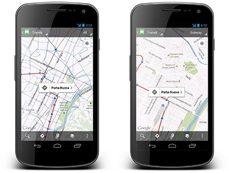Maintenant plus d'un million d' horaires et d'arrêts de transports en commun sur Google Maps | Geeks | Scoop.it