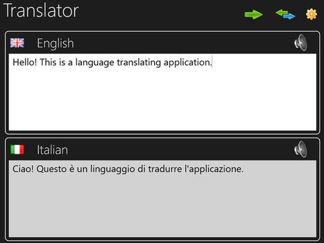 Windows 8.1 App Watch: Translator Free | Windows 8 Apps | Scoop.it