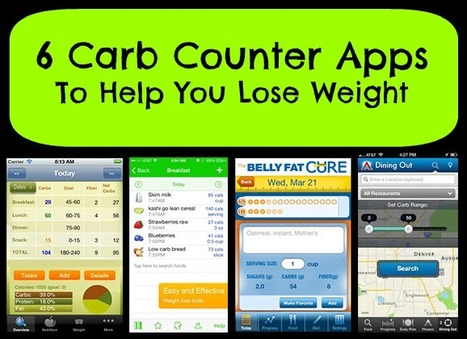 6 Great Carb Counter Apps To Lose Weight | My Dream Shape! | Fitness | Scoop.it