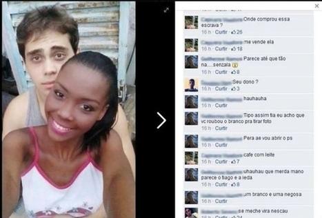 Jovem negra posta foto com namorado branco e sofre racismo no Facebook | Pensata | Scoop.it