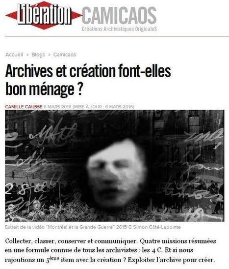 Article du jour (219) : Archives et CAMICAOS | Au hasard | Scoop.it