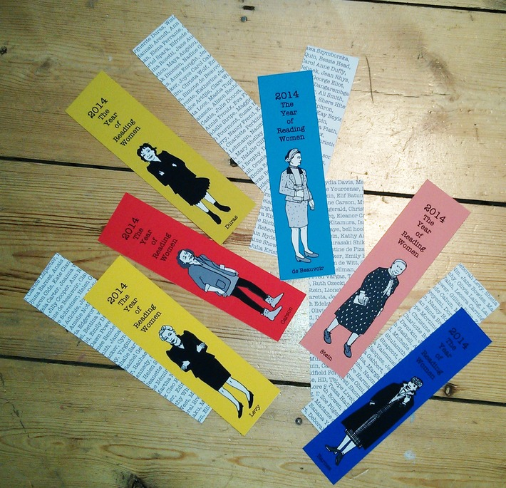 Stylish Bookmarks Featuring Famous Female Authors | Dare To Be A Feminist | Scoop.it