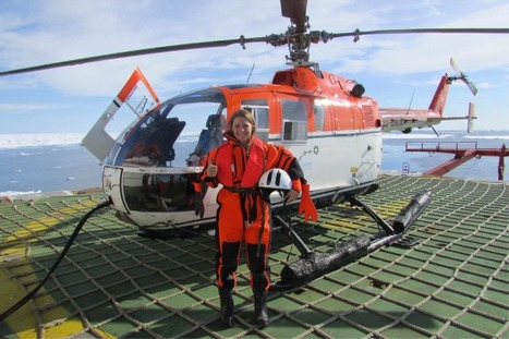 A dream comes true: One month on the icebreaker Polarstern, measuring winds in the Arctic | Women and science | Scoop.it