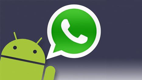 Las llamadas de voz de Whatsapp se activan en Android | Programación Web desde cero | Scoop.it