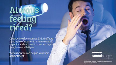 Snore No More – It's Easy! | Healthy Smiles | HealthySmiles Dental Group | Scoop.it