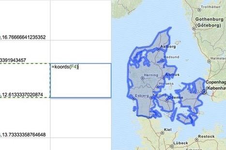 Geocoding in Google Docs: GeoJSON boundaries with Koordinates | #datajournalism #opendata | Public Datasets - Open Data - | Scoop.it