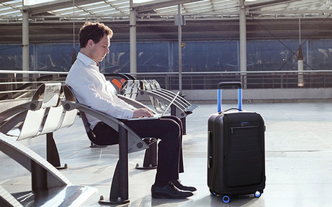 The 'smart suitcase' that locks, weighs and tracks itself - Telegraph   Travel Buzz   Scoop.it