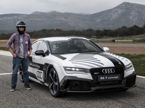 I raced against a robotic Audi - and lost - Stuff.tv   Electronic engineering india   Scoop.it
