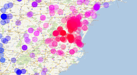 Infographic Of The Day: How The Virginia Earthquake Spread On Twitter   Conciencia Colectiva   Scoop.it