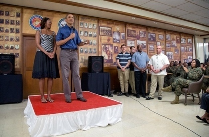 Obama thanks troops in Christmas visit to Hawaii Marine Corps base | Transitional housing in place and transitional service for female vets in MI | Scoop.it