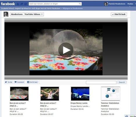 Voeg je Youtube kanaal toe aan je Facebookpagina | www.meulesteen.nl | PC vaardigheden | Scoop.it