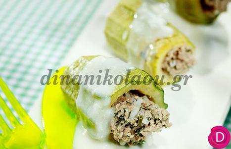 Κολοκυθάκια γεμιστά στην κατσαρόλα | Dina Nikolaou | Συνταγές | Scoop.it