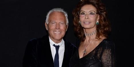 Giorgio Armani illumina Roma con una serata spettacolare - Sfilate | fashion and runway - sfilate e moda | Scoop.it