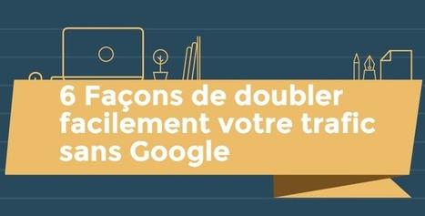 6 Façons De Doubler Facilement Votre Trafic Sans Google | Tom Langdon | Webdesign, Créativité | Scoop.it