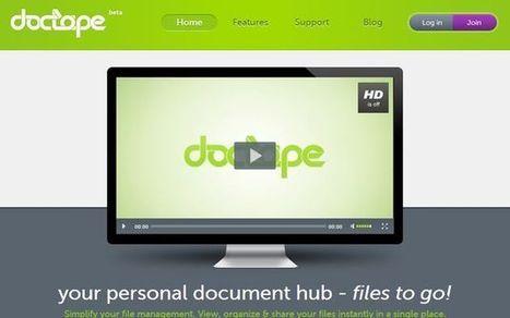Doctape, 5 Gb gratis de almacenamiento en línea con conversor de archivos incorporado | Recull diari | Scoop.it