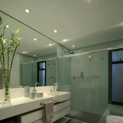 Confira a decoração de 20 banheiros grandes e pequenos   luistravis   Scoop.it