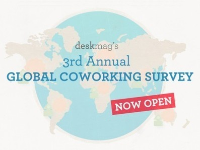 3rd Annual Coworking Survey launched | Deskmag | Coworking | Coworking  Mérignac  Bordeaux | Scoop.it