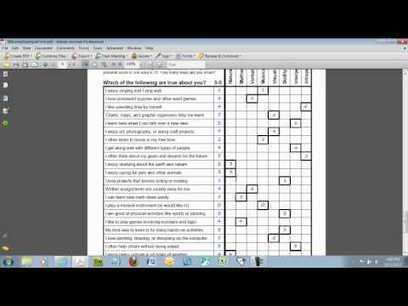 Multiple Intelligences Survey for Kids - YouTube | Howard Gardners Multiple Intelligences | Scoop.it
