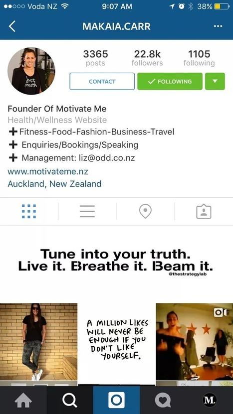 Instagram teste son équivalent des pages Facebook | Etourisme & outils | Scoop.it