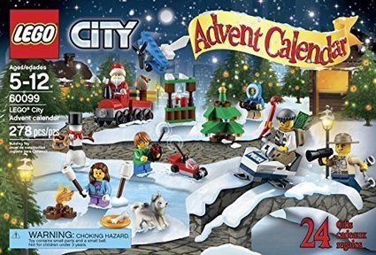 LEGO City Town 60099 Advent Calendar Building Kit - Toys And Games Win | Nothing But News | Scoop.it