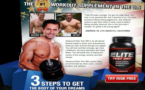 Elite Test 360 Warning - Shocking - Don't Buy Before You Read This! | Beatufull Strong Budy With Elite Test 360 | Scoop.it