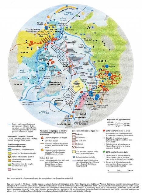 … et l'Arctique deviendra un océan - Visionscarto | Géographie : les dernières nouvelles de la toile. | Scoop.it