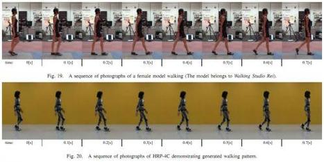 HRP-4C female robot has a new walk (w/ video) | Technoscience and the Future | Scoop.it