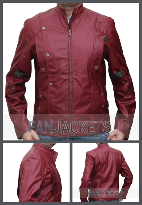 Guardians of The Galaxy Jacket Star Lord | Mens Celebrity Fashion Jackets, Coat and Suits | Scoop.it