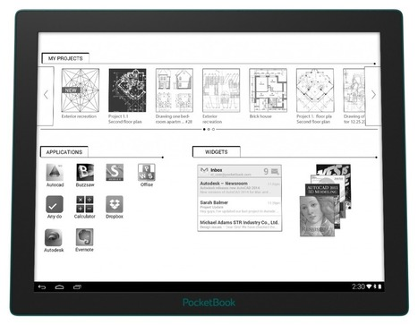 The Pocketbook CAD will soon be available in Europe | MioBook...eReader! | Scoop.it