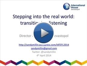 Transitioning listening: Sandy Millin | TELT | Scoop.it