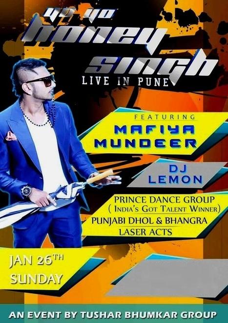 Yo Yo Honey Singh in Pune Live Concert, Songs   Happy Republic Day 2014, 26 January 2014   Happy Valentines Day 2014   Scoop.it